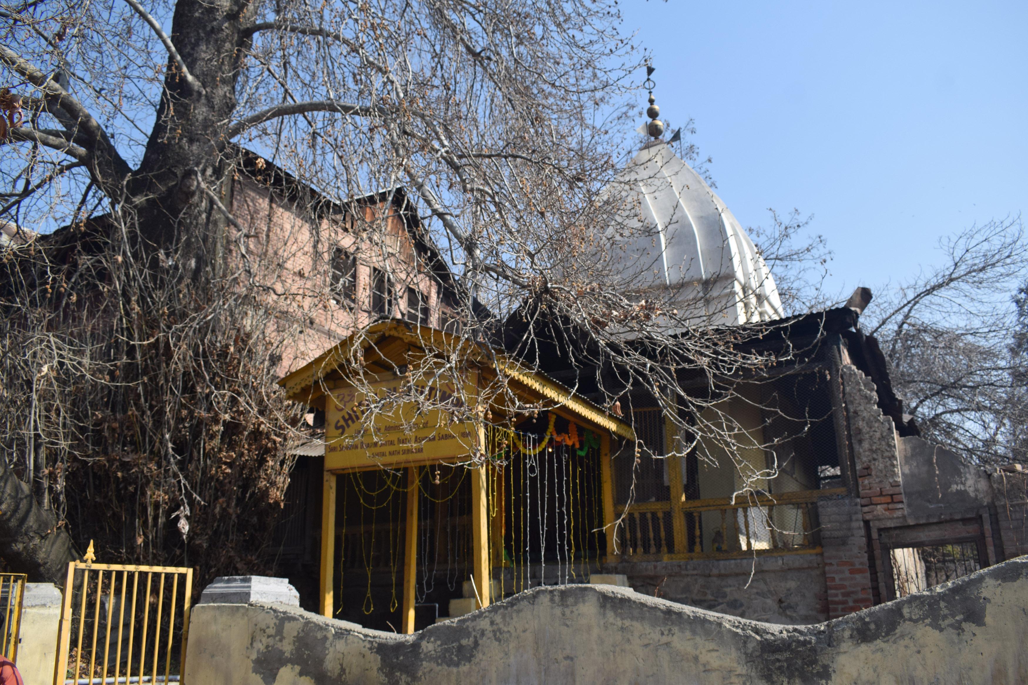 आतंक के साए से निकला मंदिर, 32 बाद वसंत पंचमी की बहार