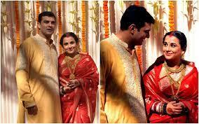 अपरंपरागत भूमिका निभाने वाली अभिनेत्री विद्या बालन को अक्सर साड़ी में देखा जाता है. यहां तक कि अपनी शादी के इस खास दिन पर भी उन्होंने साड़ी को चुना था.काजोल ने फरवरी 1999 में ब्लॉकबस्टर फिल्म दिल