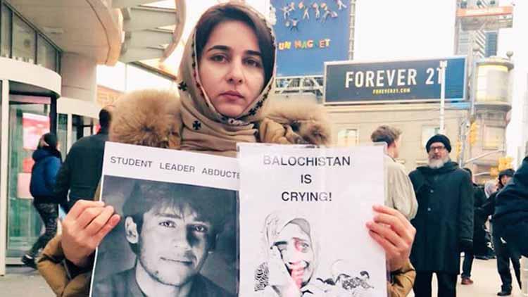 बलोचिस्तान की मानवाधिकारी कार्यकर्ता करीमा बलोच. कनाडा में उनकी हत्या हो गई थी. शव पाकिस्तान लाया गया, तो पाकिस्तानी सेना ने उसे अपने कब्जे में ले लिया.