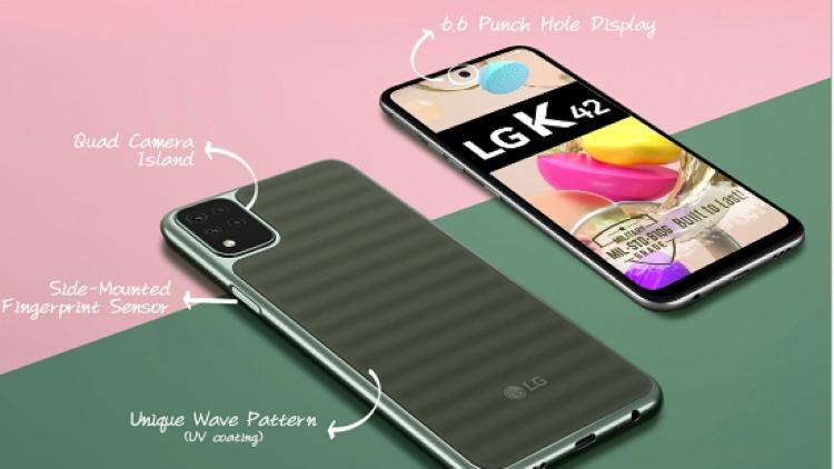 यह है एलजी के स्मार्टफोन के-42 की पहली झलक