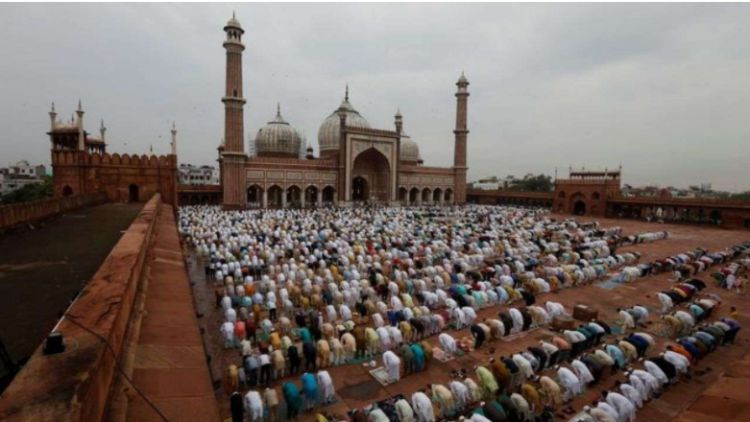 जामा मस्जिद में ईद की नमाज (फाइल)