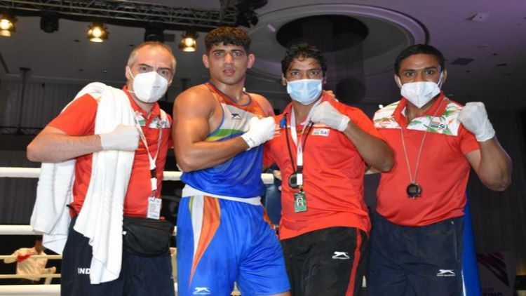 एशियन बॉक्सिंग चैंपियनशिप में भारत को बड़ी उपलब्धिः संजीत ने जीता गोल्ड, ओलंपिक मेडलिस्ट को हराया