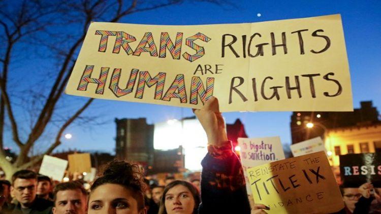 #TransRightsAreHumanRights