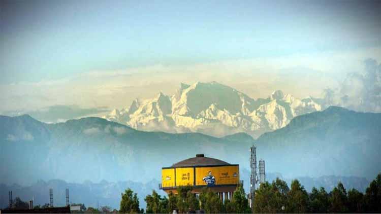 सहारनपुर से दिखतीं हिमालय की चोटियां