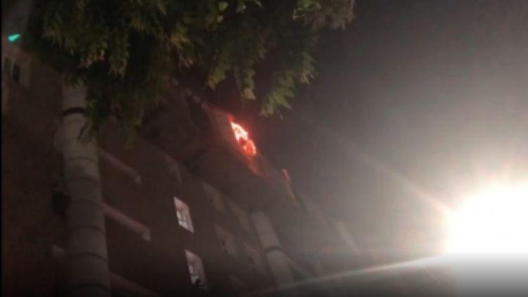 एम्स की नौवीं मंजिल पर में लगी आग