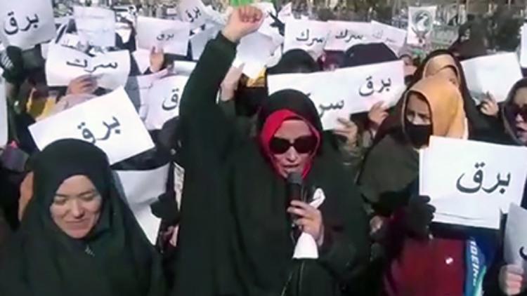 अफगानिस्तान के घोर में तालिबान के खिलाफ प्रदर्शन करती महिलाएं (सौजन्य: टोलो न्यूज)