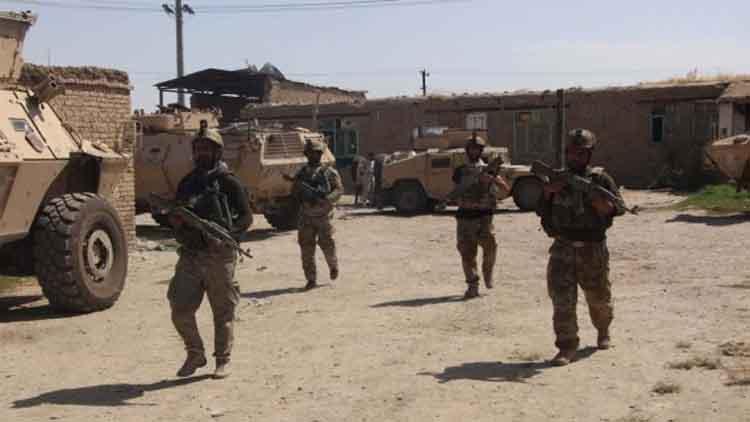 मुस्तैद अफगान सरुक्षा बल