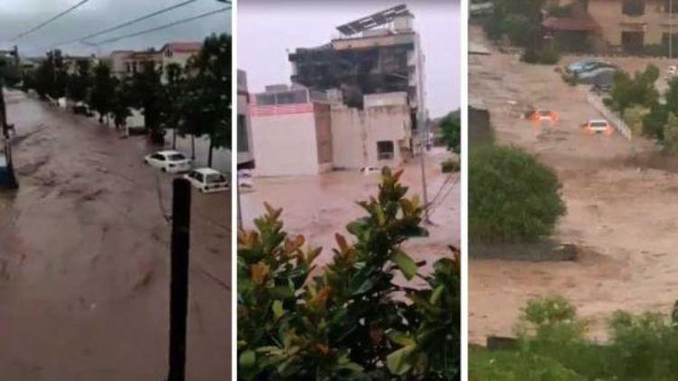 बदल फटने से डूब गई पाकिस्तान की राजधानी इस्लामाबाद