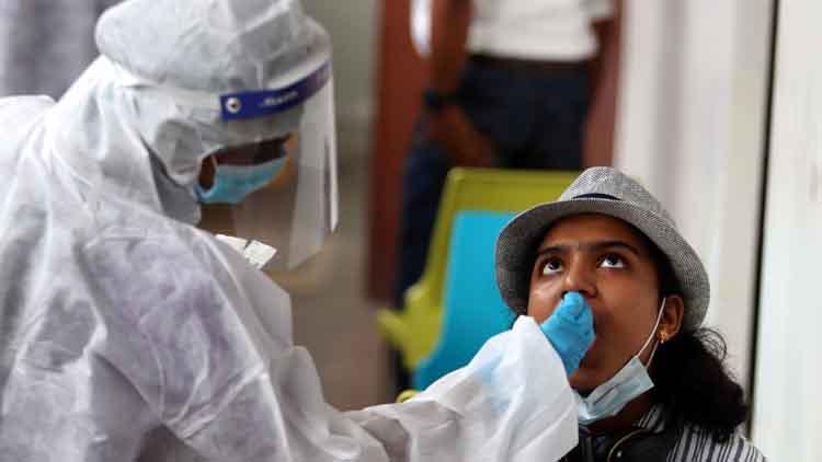 केरल में फिर अधिक कोविड मामले दर्ज