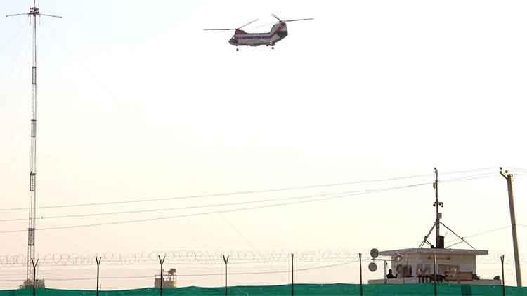 अफगान विमानों को जबरन लैंड करवाया