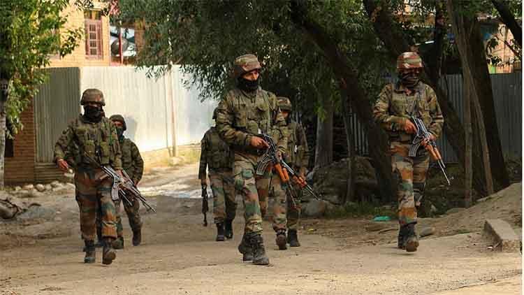 भाजपा पार्षद की हत्या में शामिल आतंकी ढेर