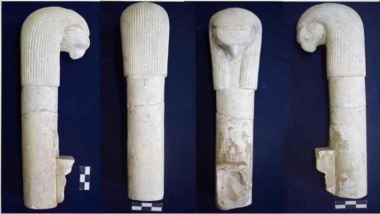 देवी हाथोर के धार्मिक अनुष्ठान वाले उपकरण पाए गए