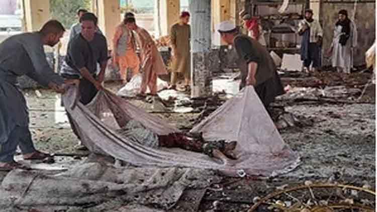 कुंदुज में  शिया मस्जिद पर  उइगर आत्मघाती हमला