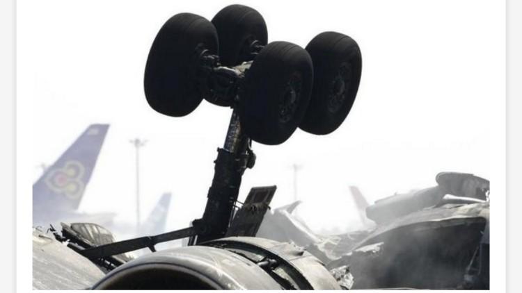 मप्र: भिंड में IAF का विमान क्रैश, पायलट घायल
