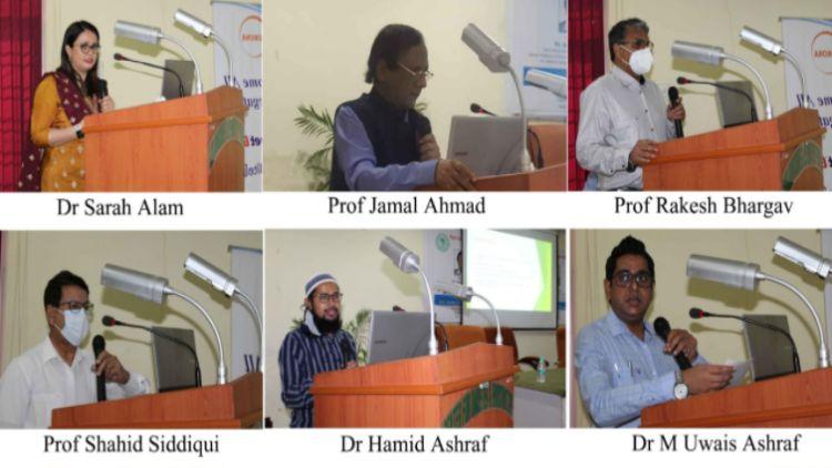एएमयू के जवाहरलाल नेहरू मेडिकल कॉलेज में आयोजित सेमीनार में रोजा के दौरान स्वास्थ्य संबंधी समस्याओं पर विचार रखे
