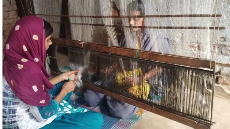 भागलपुर, बिहार के बुनकरों को मिलेगा नया उत्साह (फोटोः एएनआइ)