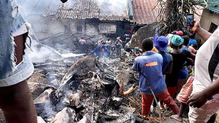 जिम्बाब्वेः वायु सेना का हेलीकॉप्टर दुर्घटनाग्रस्त, 4 की मौत