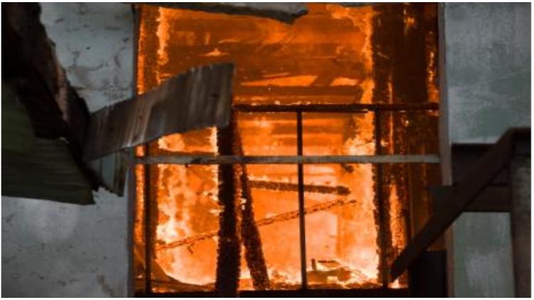 यूक्रेन के नर्सिग होम में लगी आग, 15 की मौत
