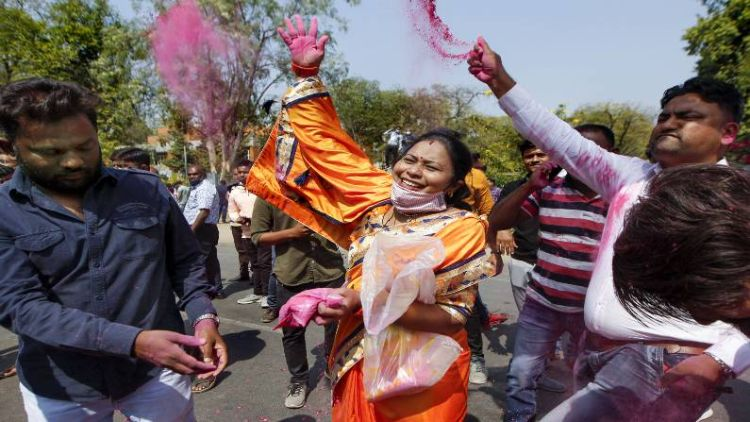 गुजरात निकाय चुनावः कांग्रेस का सफाया,  भाजपा को मिली बंपर जीत