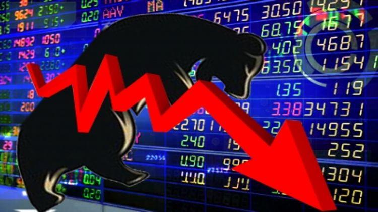 शेयर बाजार में हाहाकार, सेंसेक्स 1400 अंक लुढ़का सेंसेक्स