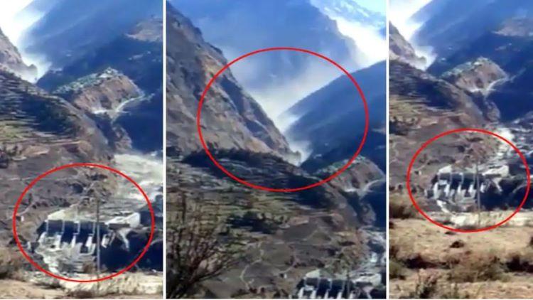 उत्तराखंडः चमोली में ग्लेशियर फटने से भारी तबाही, कई मजदूर लापता